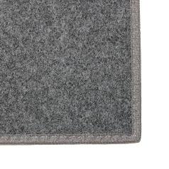 Valdosta Smoke Gray Indoor-Outdoor Rug - Grey Binding