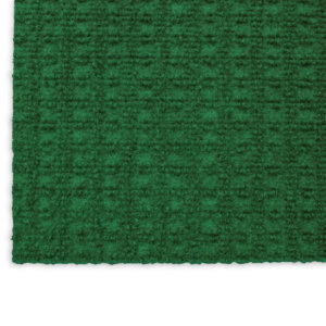 Interlace Heather Green Indoor - Outdoor Unbound Area Rugs Corner