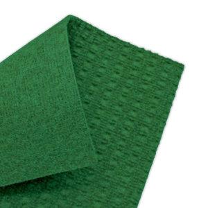 Interlace Heather Green Indoor - Outdoor Unbound Area Rugs back