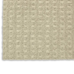 Interlace Ivory Indoor - Outdoor Unbound Area Rugs Corner