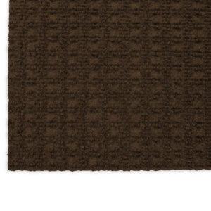 Interlace Mocha Brown Indoor - Outdoor Unbound Area Rugs Corner