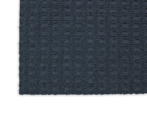 Interlace Ocean Blue Indoor - Outdoor Unbound Area Rugs Corner