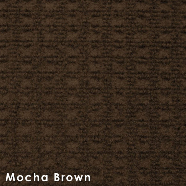 Interlace Mocha Brown Indoor - Outdoor Unbound Area Rugs Swatch