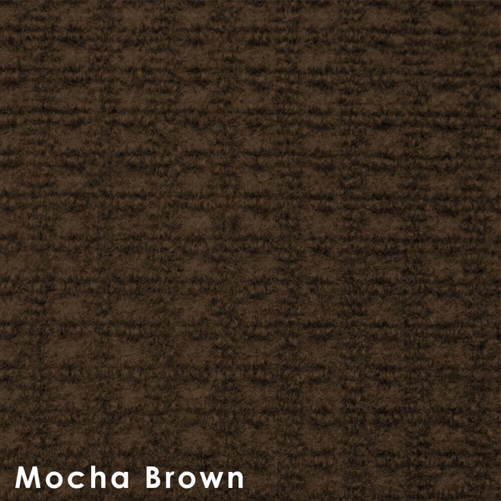 Interlace Mocha Brown Indoor - Outdoor Unbound Area Rugs Swatch