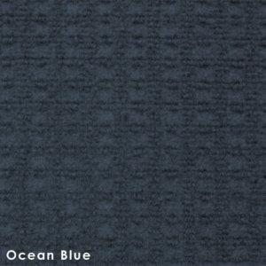 Interlace Ocean Blue Indoor - Outdoor Unbound Area Rugs Swatch