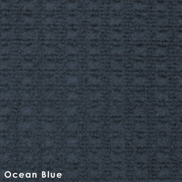 Interlace Ocean Blue Indoor - Outdoor Unbound Area Rugs Swatch