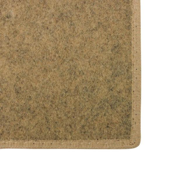 Valdosta Indoor-Outdoor Durable & Soft Carpet Area Rug | Camel Binding