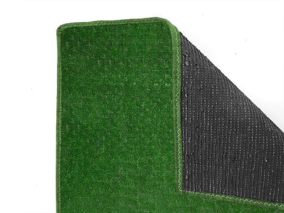 Pasture Economical Grass Turf | Indoor-Outdoor Area Rug Carpet - Durable Backing