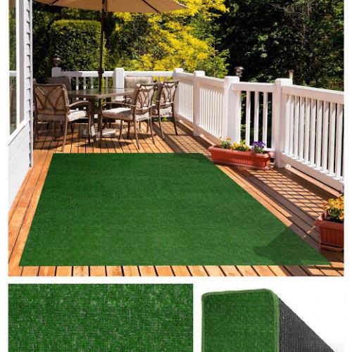 Pasture Economical Grass Turf | Indoor-Outdoor Area Rug Carpet