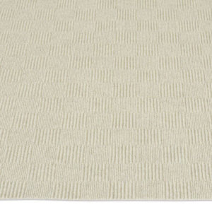Patchwork Indoor - Outdoor Unbound Area Rugs - Ivory Pattern