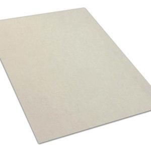 White Valdosta Indoor-Outdoor Durable & Soft Carpet Area Rug | Custom Size