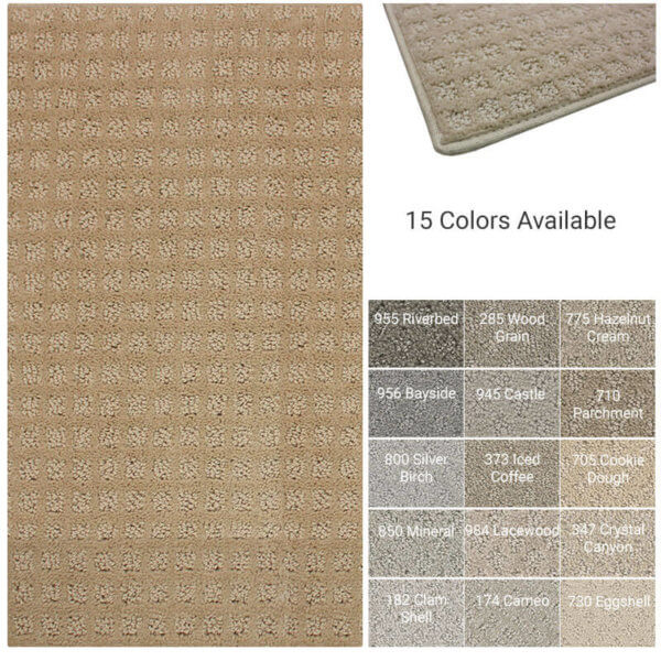 Chamber's Bay Indoor Area Rug Collections 15 Colors Available