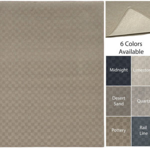 Checkerboard Indoor – Outdoor Area Rugs - 6 Colors Available