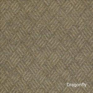 Dreamweaver Indoor-Outdoor Area Rug Carpet - Dragonfly Swatch