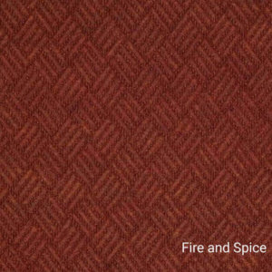 Dreamweaver Indoor-Outdoor Area Rug Carpet - Fire and Spice Swatch