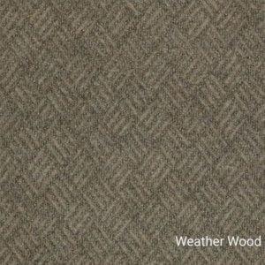 Dreamweaver Indoor-Outdoor Area Rug Carpet - Weather Wood Swatch