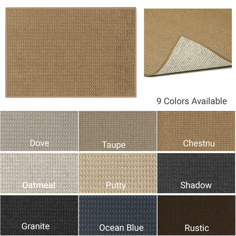 Foundation Indoor - Outdoor Area Rugs -9-colors-available