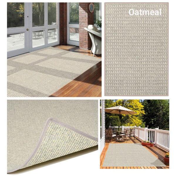 Foundation Indoor - Outdoor Area Rugs - Oatmeal Room