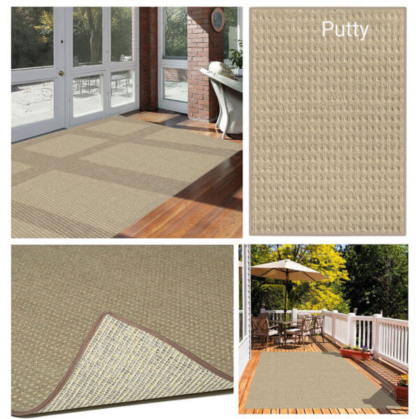 Foundation Indoor - Outdoor Area Rugs - Putty Room