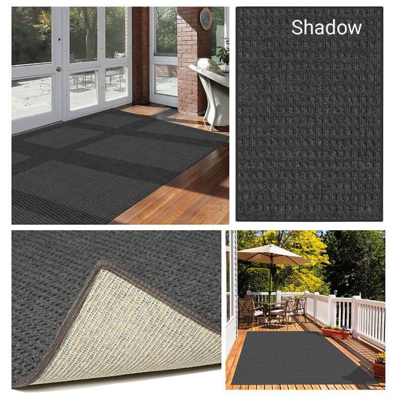 Foundation Indoor - Outdoor Area Rugs - Shadow Room