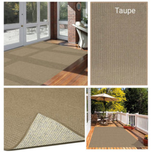Foundation Indoor - Outdoor Area Rugs - Taupe Room