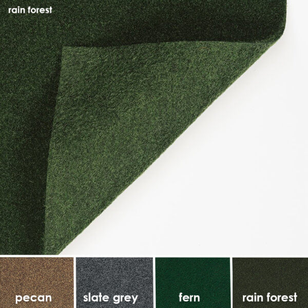 Grizzly Turf Grass Indoor - Outdoor Unbound Area Rugs
