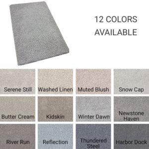 Quiet Sanctuary Shag Area Rug Collection - 12 Colors Available