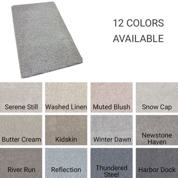 Quiet Sanctuary Shag Area Rug Collection - 12 Colors Available