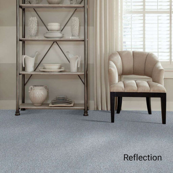 Quiet Sanctuary Shag Area Rug Collection - Reflection Room