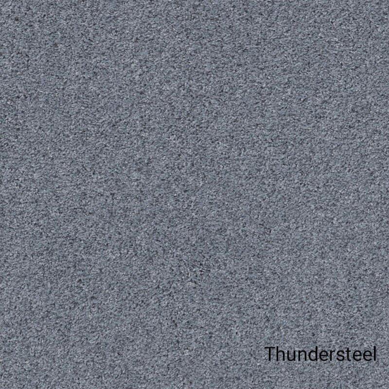 Quiet Sanctuary Shag Area Rug Collection - Thundersteel