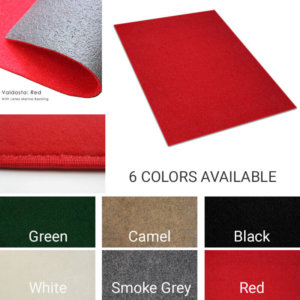 Valdosta Indoor-Outdoor Durable & Soft Carpet Area Rug | 6 Colors Available