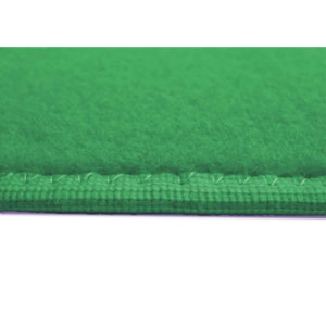 Jade Green - Soft Touch Indoor-Outdoor Area Rug Carpet Side