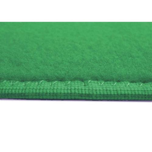 Jade Green - Soft Touch Indoor-Outdoor Area Rug Carpet Side