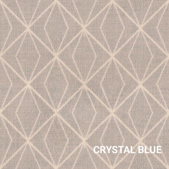Crystal Blue Milliken Subtle Solitaire