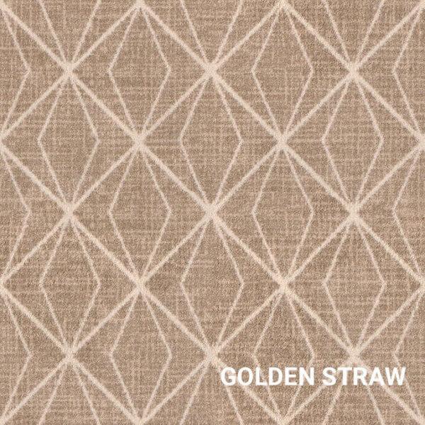 Golden Straw Milliken Subtle Solitaire