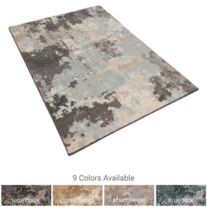 Milliken Sky Canvas Indoor Area Rug Collection - 9 Colors Available