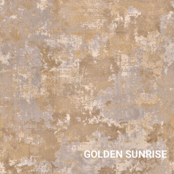 Golden Sunrise Milliken Sky Canvas Indoor Area Rug