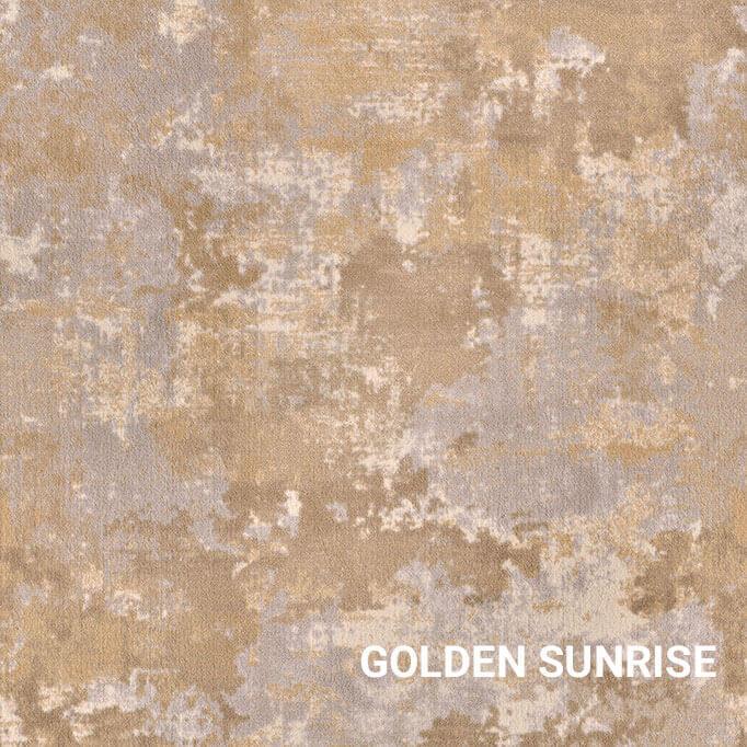 Golden Sunrise Milliken Sky Canvas Indoor Area Rug