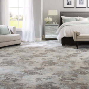 Milliken Sky Canvas Indoor Area Rug Showroom