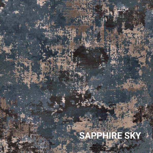 Sapphire Sky Milliken Sky Canvas Indoor Area Rug