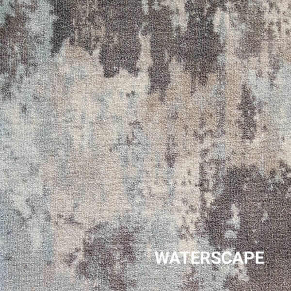 Waterscape Milliken Sky Canvas Indoor Area Rug