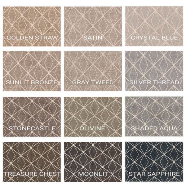 Milliken Subtle Solitaire Indoor Area Rug Collection - 12 Colors Available