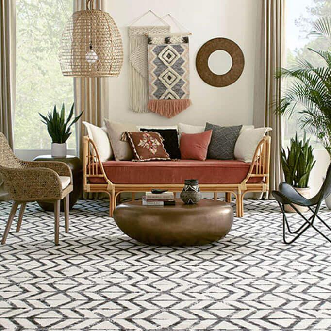 Milliken Traveler's Path Indoor Area Rug Collection - Room