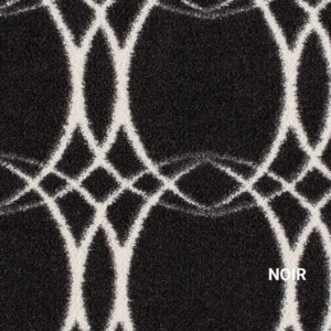 Noir Milliken Merge Area Rug