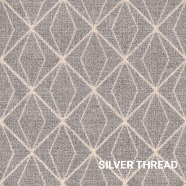 Silver Thread Milliken Subtle Solitaire