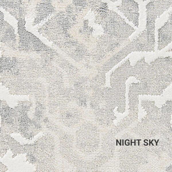 Night Sky Haka Vintage Rug
