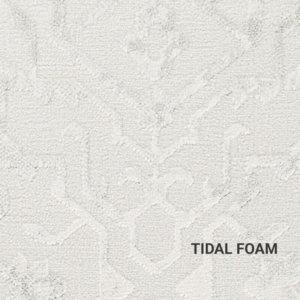 Tidal Foam Haka Vintage Rug