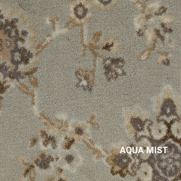 Aqua Mist Milliken Oriental Splendor Rug