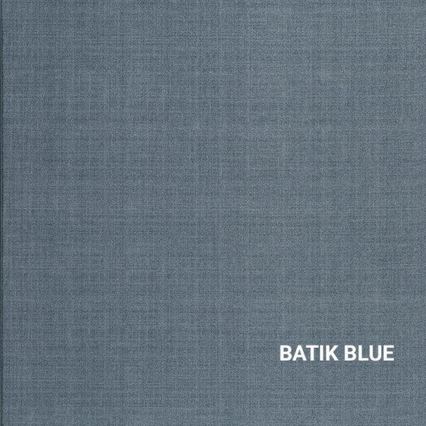 Batik Blue Milliken Brushed Linen Rug