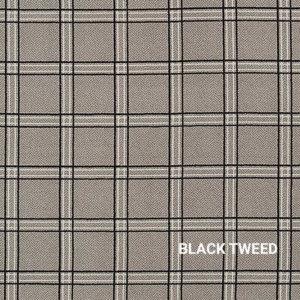 Black Tweed Milliken Herrington Rug